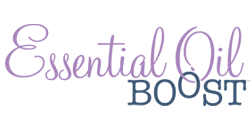 Essential Oil Boost Logo Design