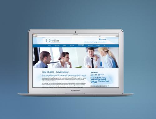 Healthstar site map + copy + design